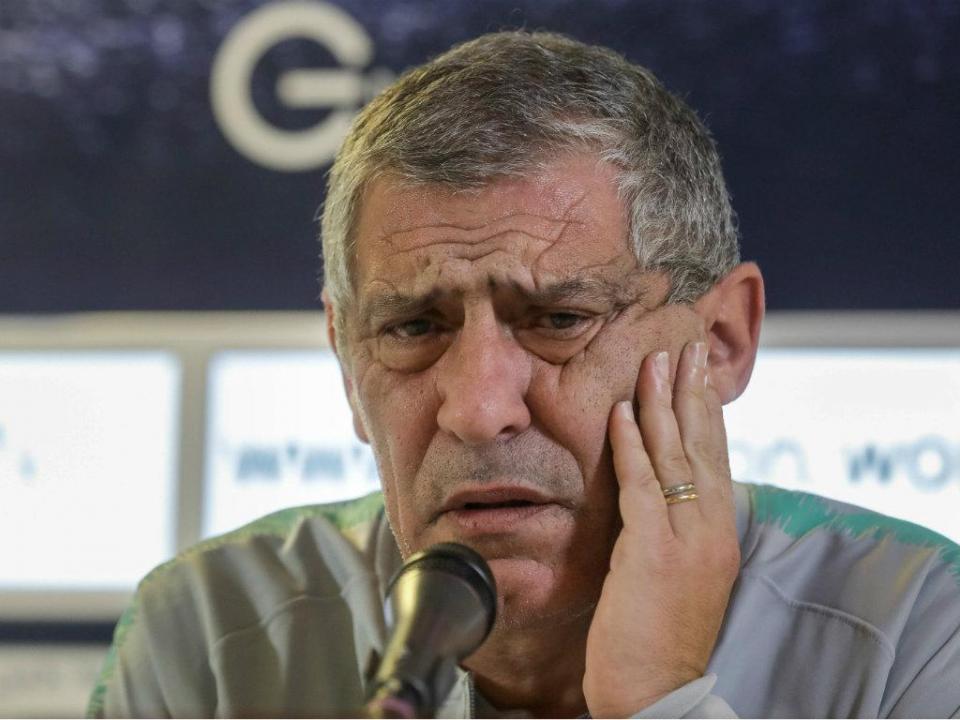Fernando Santos e o VAR: «Nunca tentei pressionar árbitros»