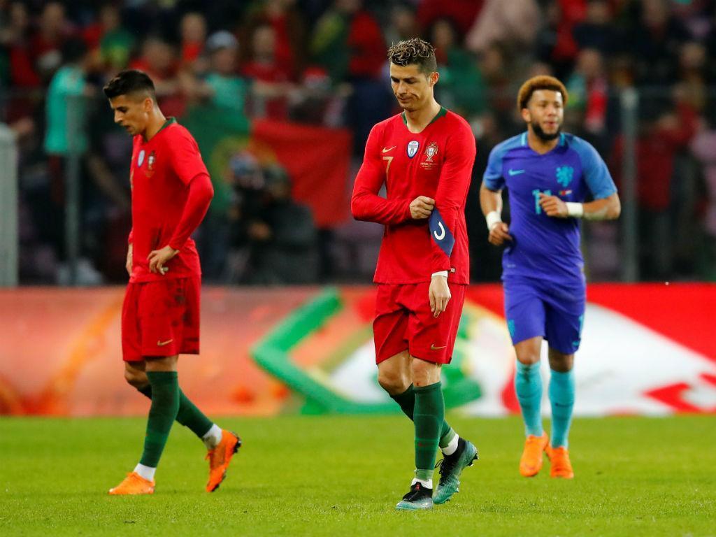 Portugal-Holanda, 0-3 (resultado final)
