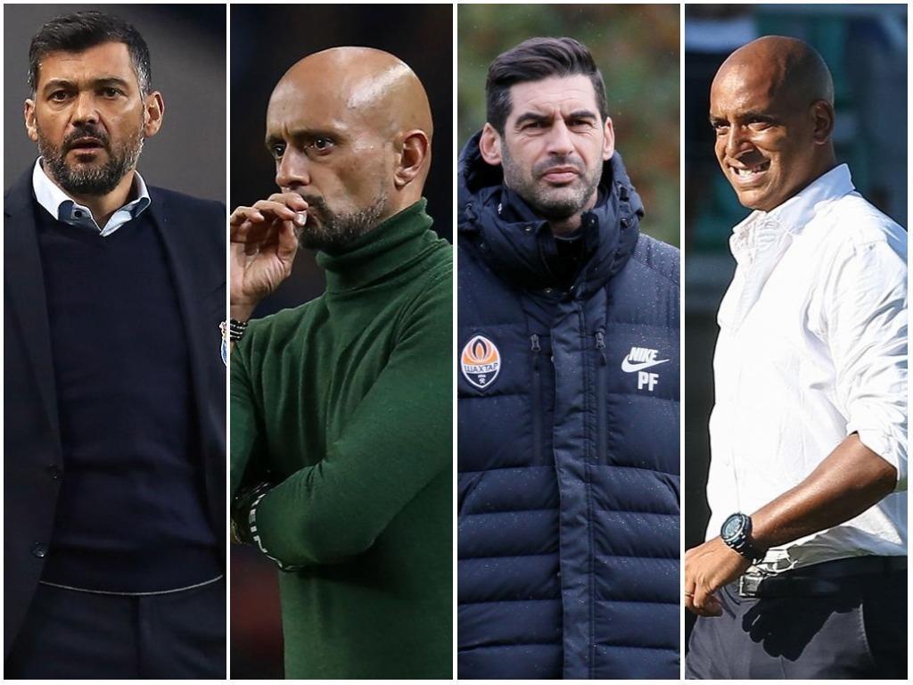 «World Soccer»: quatro portugueses entre os 25 treinadores do futuro