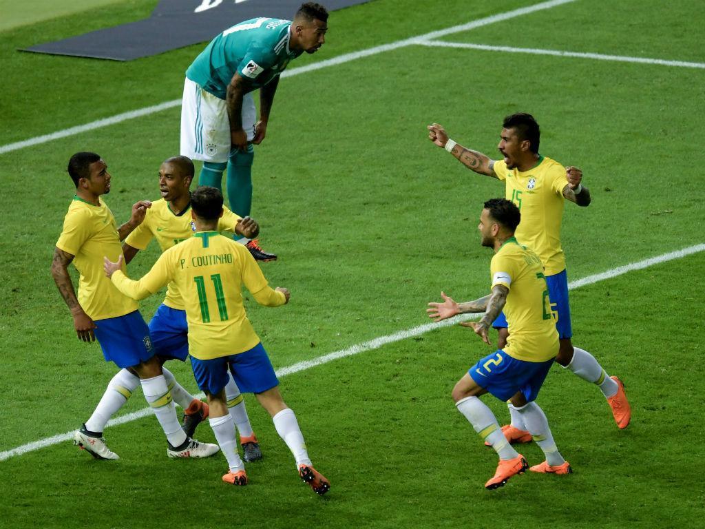 VÍDEO: Brasil vence no reencontro pós-Mundial com a Alemanha