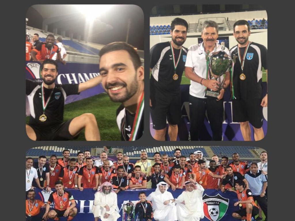 Toni vence a Taça do Kuwait pelo Kazma