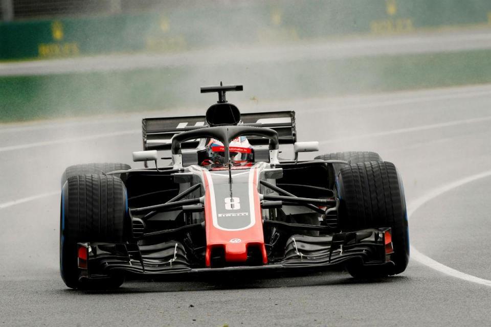 F1: Grosjean é o mais rápido no arranque dos testes em Barcelona
