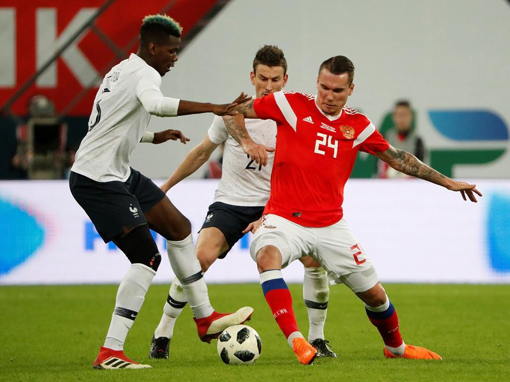 FIFA abre processo disciplinar a federação russa por racismo