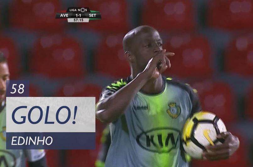 VÍDEO: Edinho empata com uma recarga na Vila das Aves (1-1)