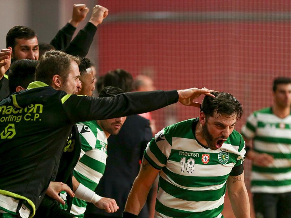 Andebol: Sporting vence ABC com Varandas na tribuna