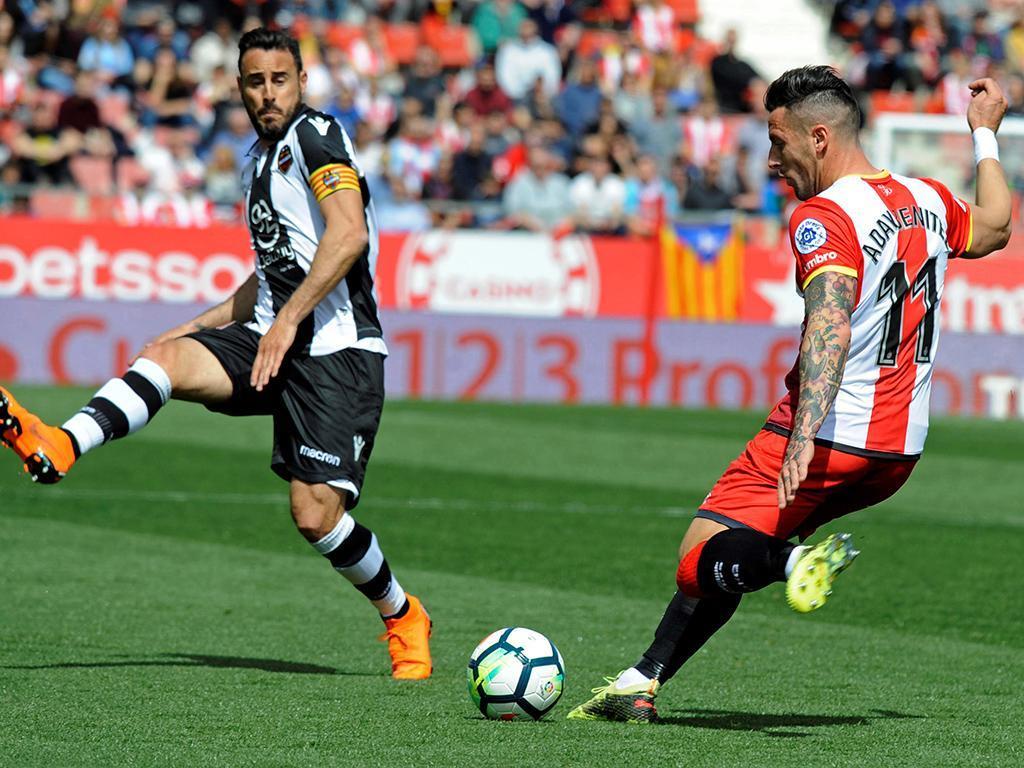 Espanha: Girona e Levante empatam a uma bola