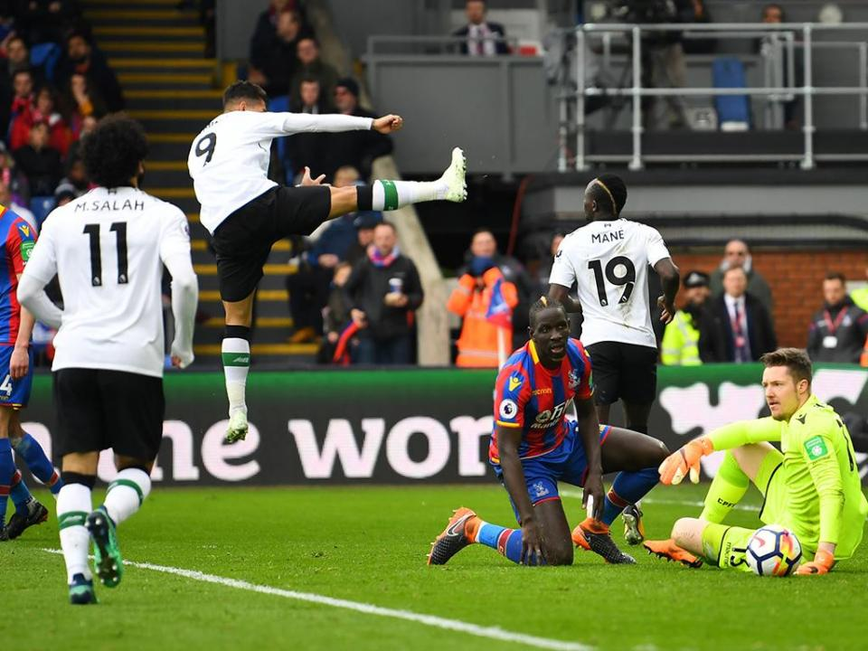 Liverpool bate Palace com Salah a igualar recorde de Ronaldo