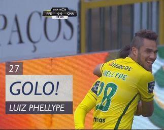 VÍDEO: Paços a vencer Chaves com cabeçada de Luiz Phellype