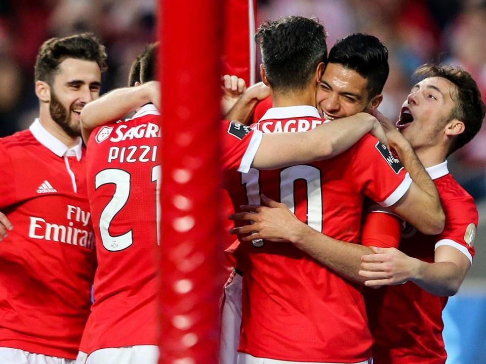 Benfica líder isolado pela primeira vez na Liga 2017/18