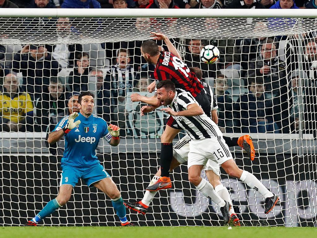 Bonucci e o golo à Juve: «Festejei pela receção que tive»