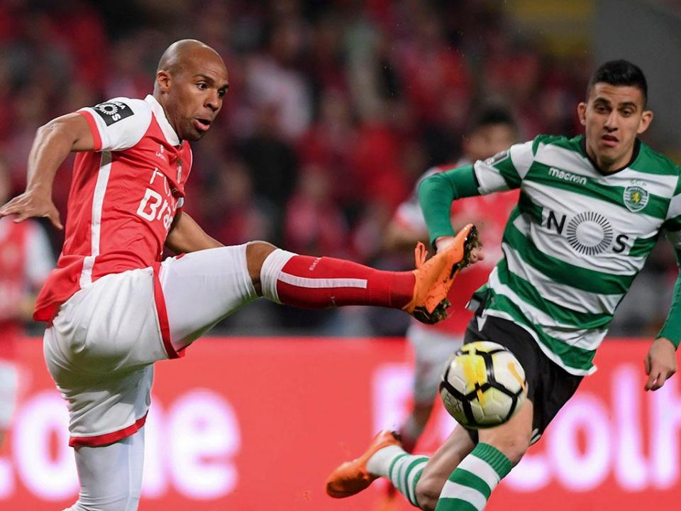 Sp. Braga-Sporting AO MINUTO: antevisão e onzes prováveis