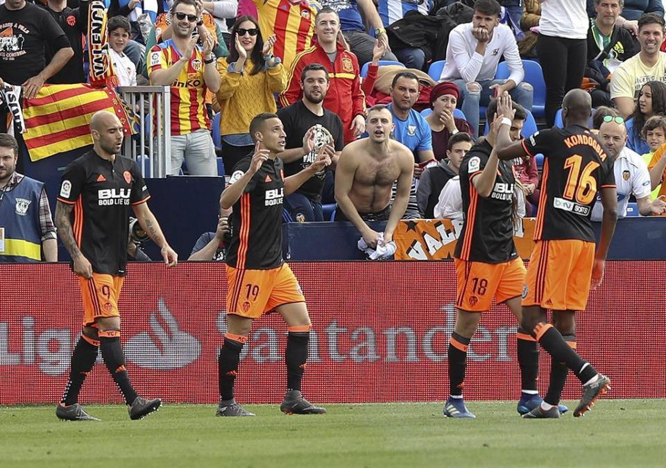 Espanha: golo de Rodrigo mantém Valência colado ao pódio