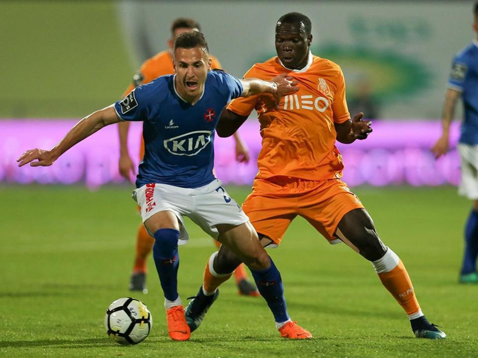 Belenenses-FC Porto, 2-0 (resultado final)