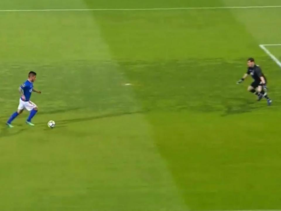 VÍDEO: golo de Nathan que dá vantagem ao Belenenses frente ao FC Porto