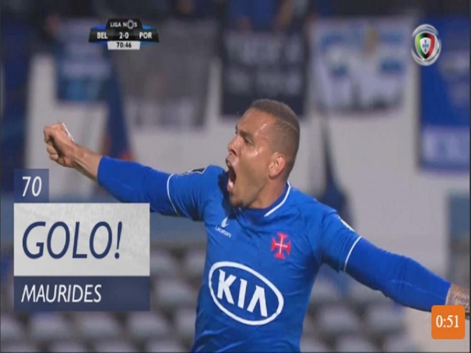 VÍDEO: Maurides aumenta a vantagem do Belenenses frente ao FC Porto