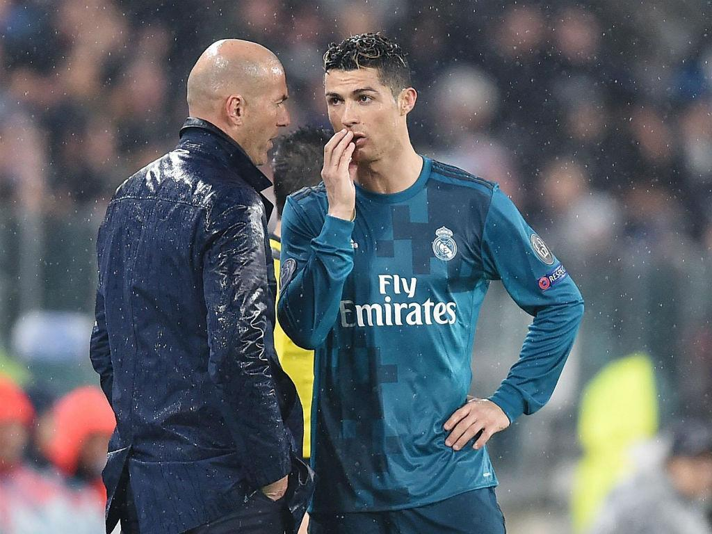 Zidane: «Sinto ciúmes de Ronaldo pelo golo...»