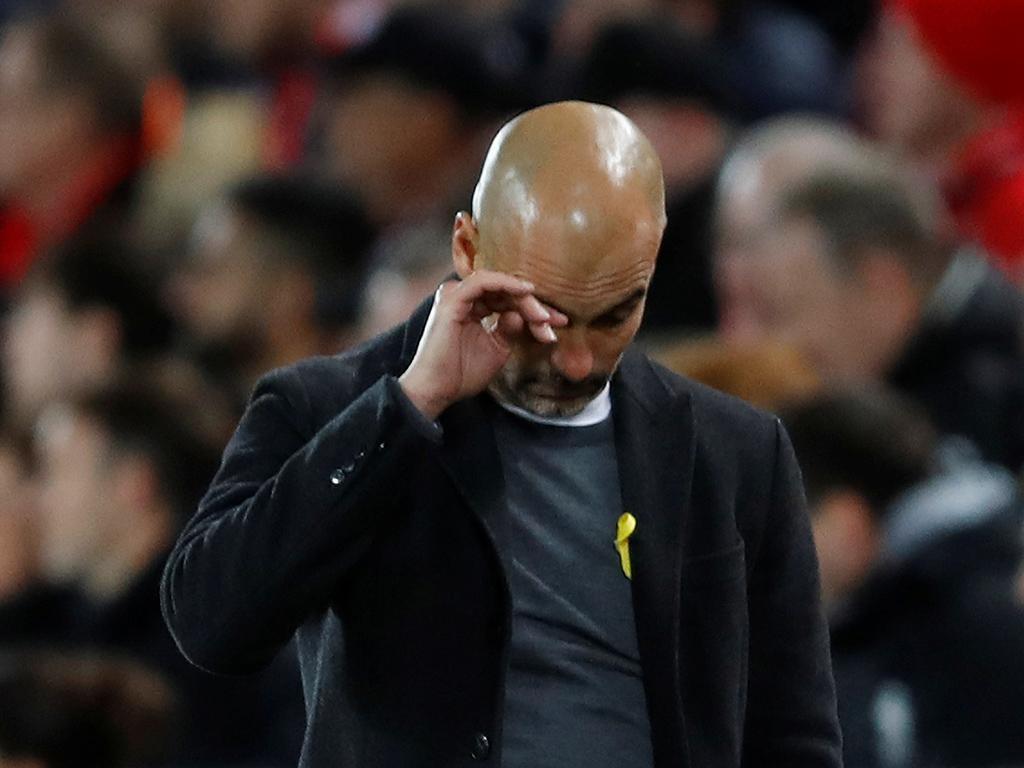 Guardiola: «Eles foram melhores em 10-15 minutos»