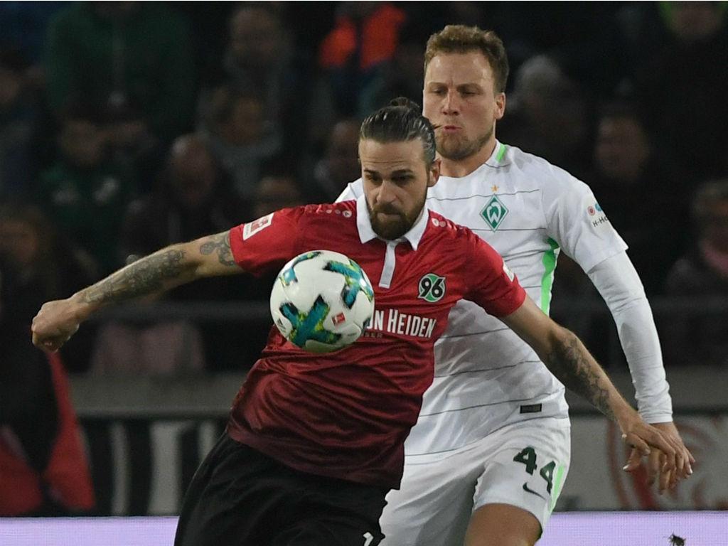 Alemanha: Hannover abre jornada 29 a vencer Werder Bremen