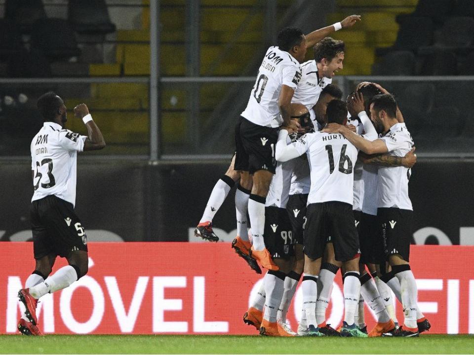 V. Guimarães-Rio Ave, 3-0 (destaques)