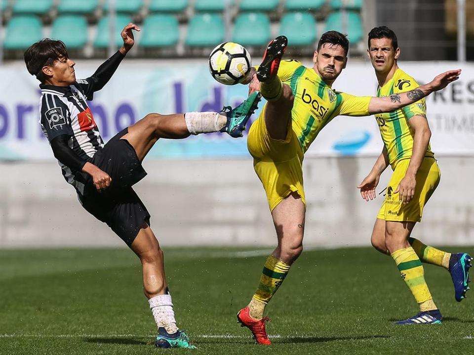 Tondela-Portimonense, 2-2 (resultado final)