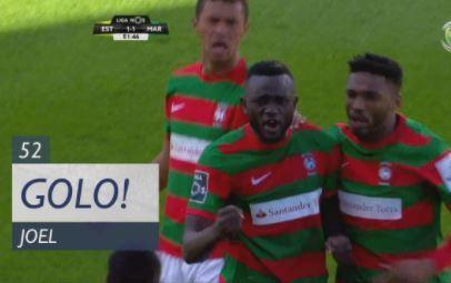 VÍDEO: o golo de Joel que abriu o marcador no Marítimo-Sporting