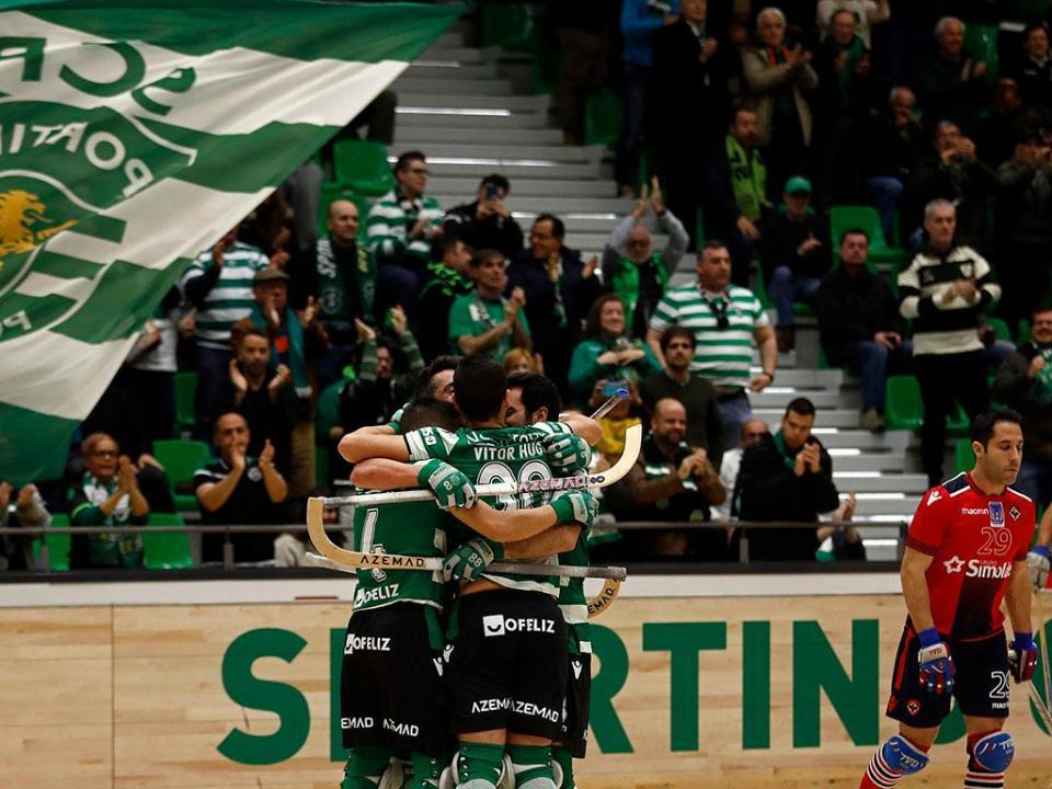 Hóquei: Sporting conquista Elite Cup após vencer Oliveirense