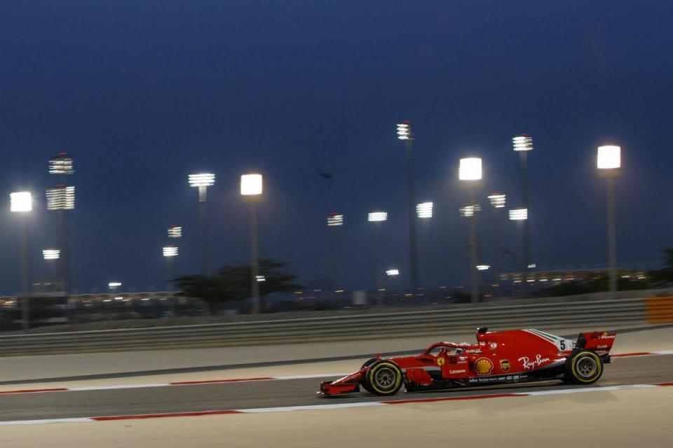 F1: veja a volta com que Vettel ganhou a pole no Bahrain