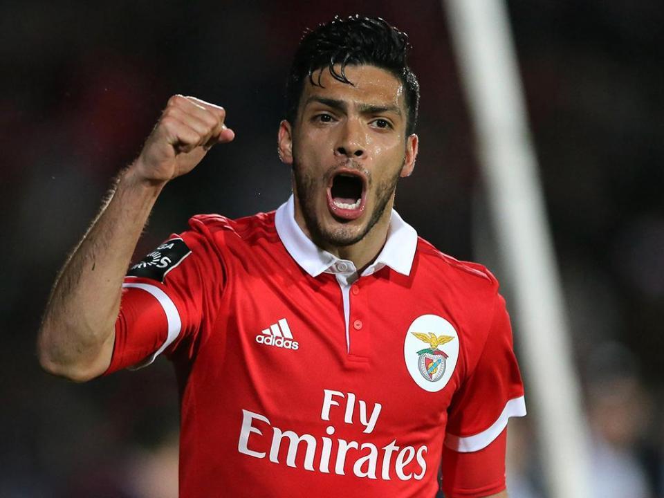 Jiménez deixa mensagem emocionada na despedida do Benfica