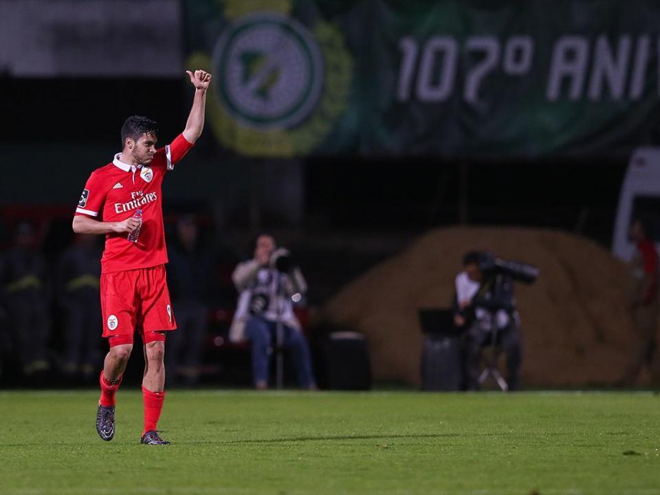 V. Setúbal-Benfica, 1-2 (destaques)