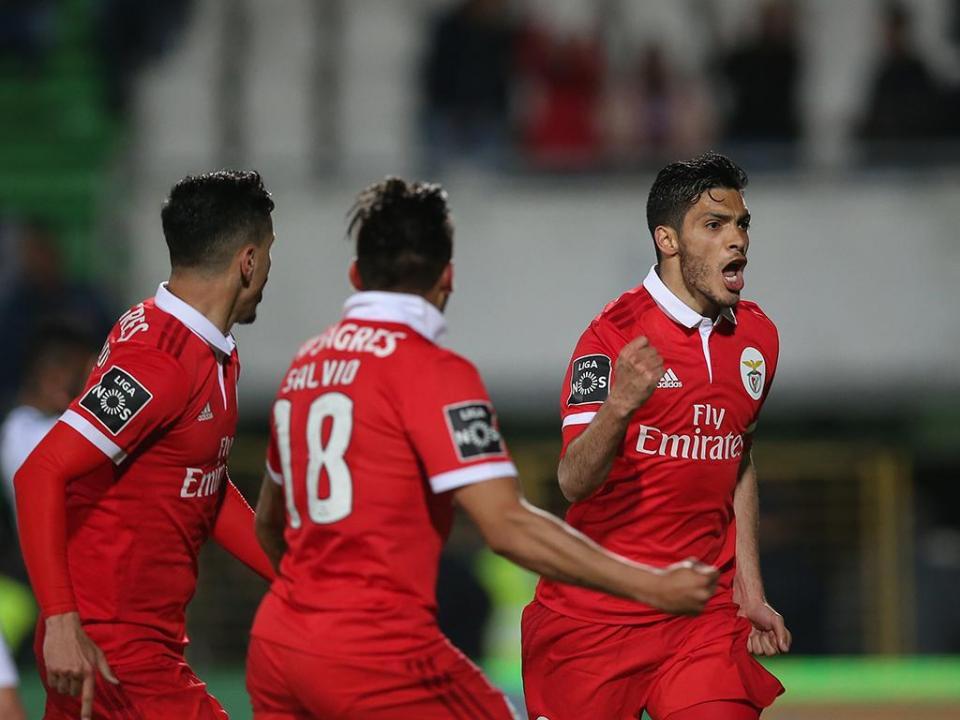 Benfica iguala recorde interno de pontos à 29.ª jornada