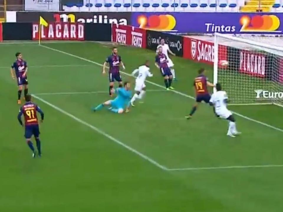 VÍDEO: António Filipe não segurou e Fredy inaugurou o marcador
