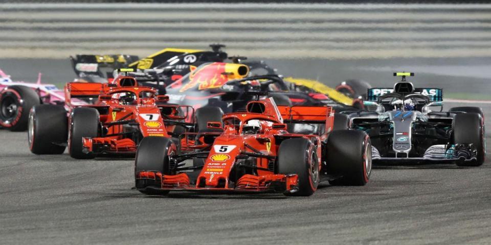 F1: Sebastian Vettel é líder do campeonato e do número de voltas na liderança