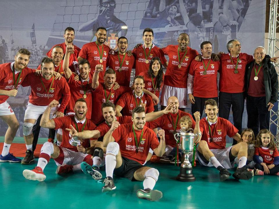 Voleibol: Benfica anuncia saída de cinco jogadores