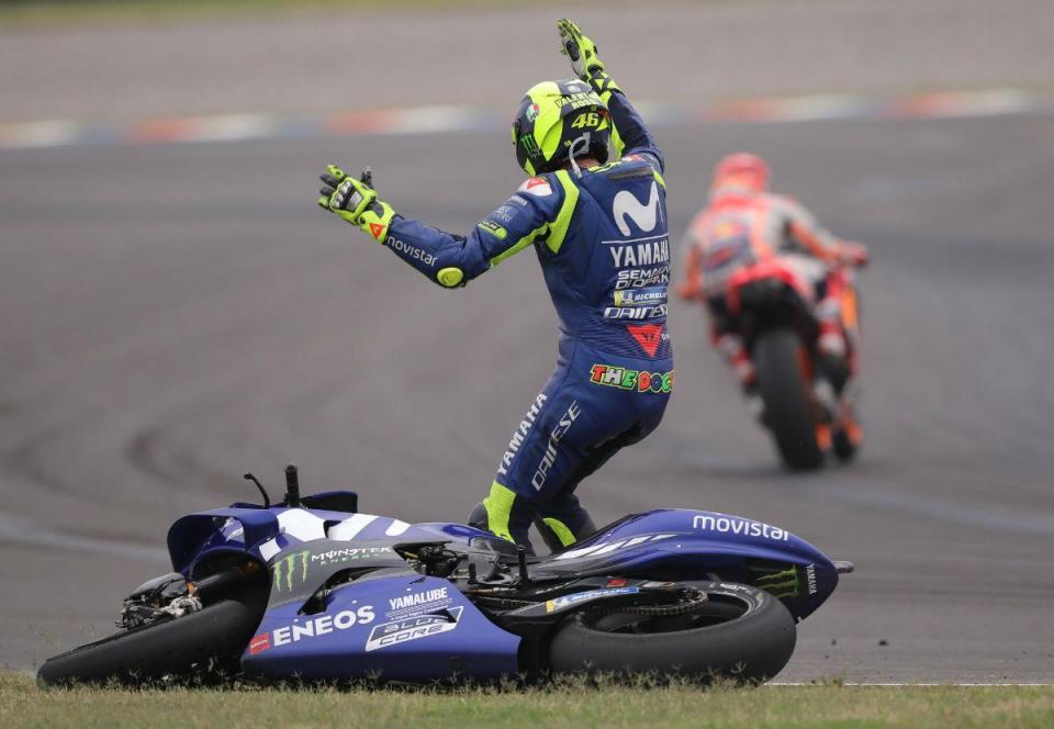 """Rossi e o choque com Márquez: """"Mantenho tudo o que disse"""""""