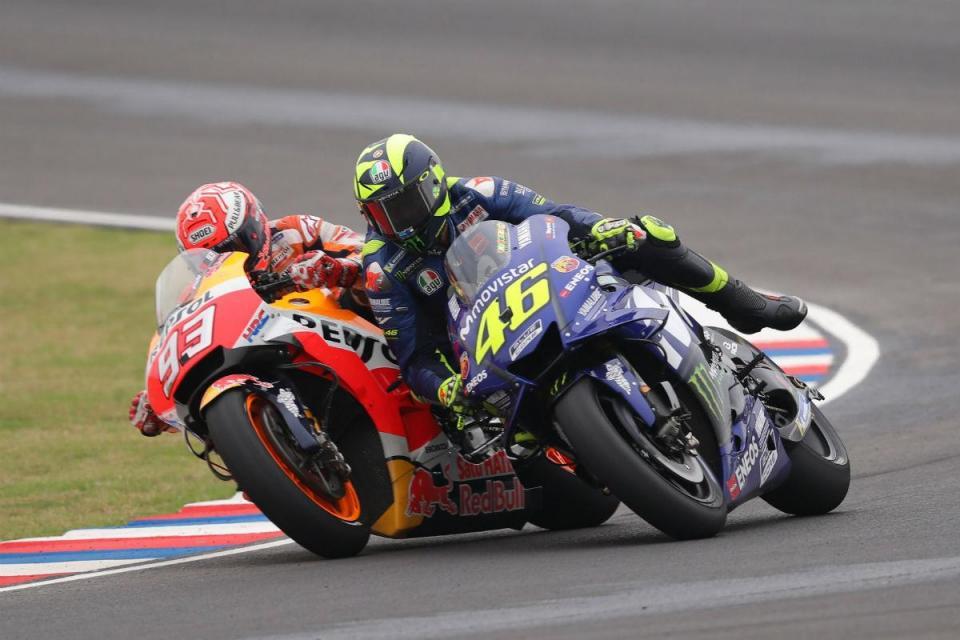 """Márquez faz a sua defesa: """"Não me interessa nada o que diga Rossi"""""""