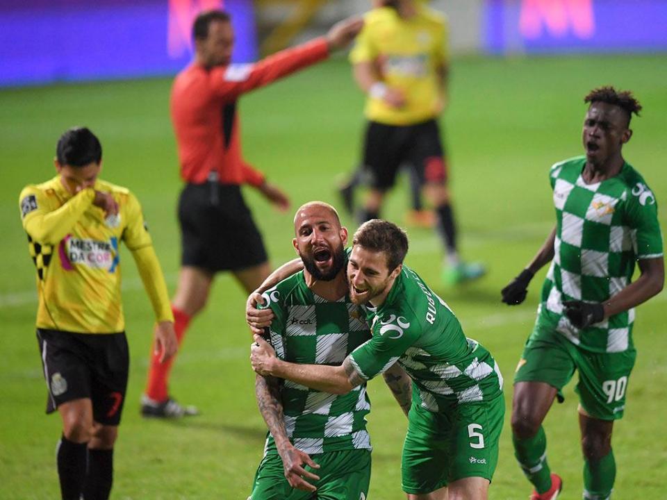 Moreirense iguala registo de vitórias com mais de três anos