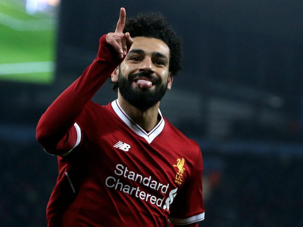 Salah faz história: jogador do mês três vezes na mesma época