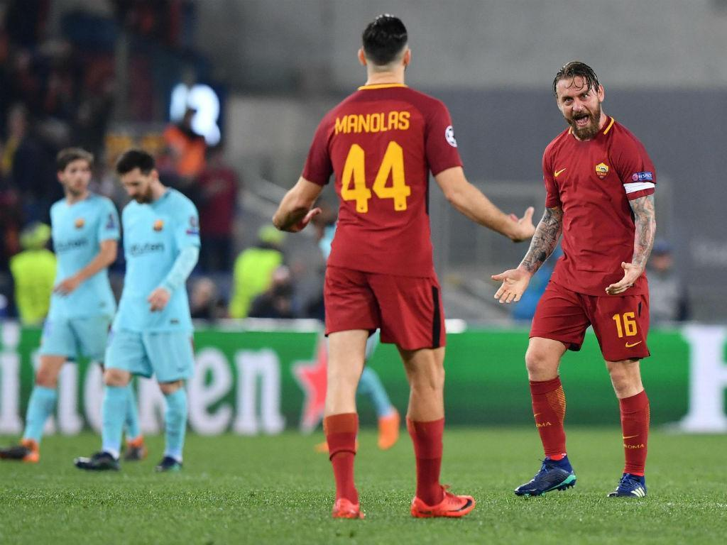 A efusiva reação de rádio catalã aquando do sorteio Barcelona-Roma