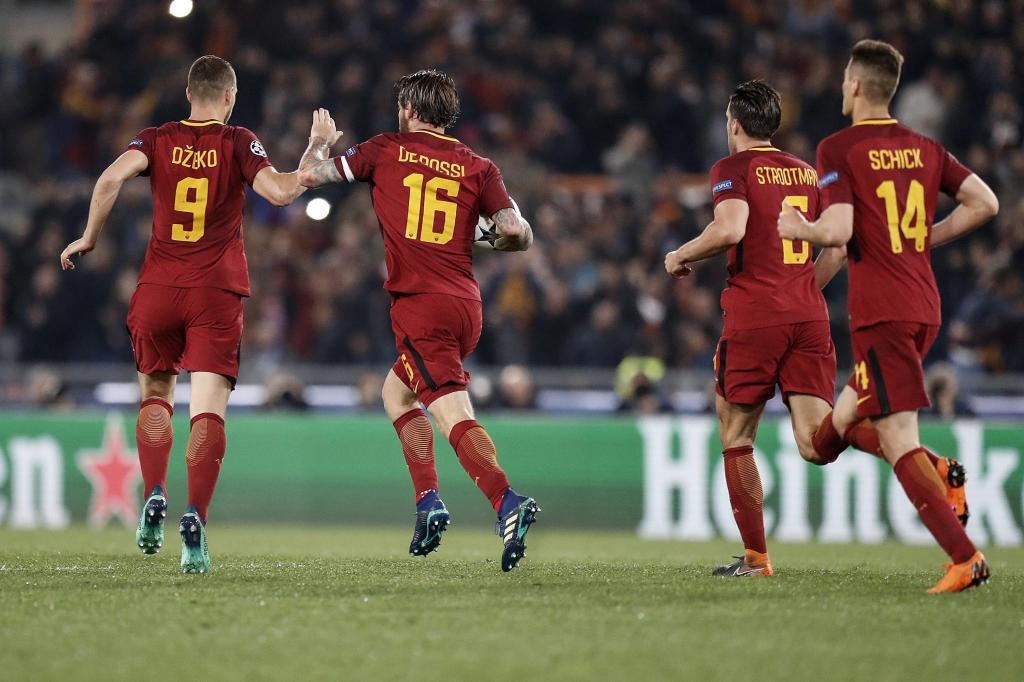 Roma em maioria na equipa da semana da Liga dos Campeões