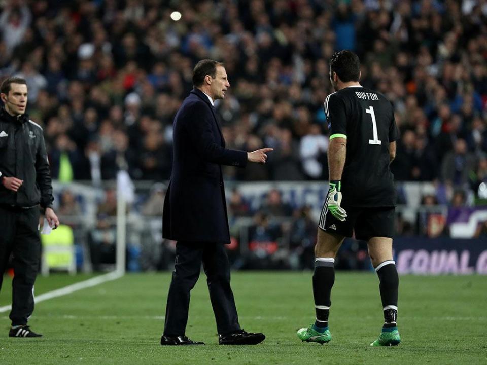 Allegri: «A Juventus merecia jogar o prolongamento»