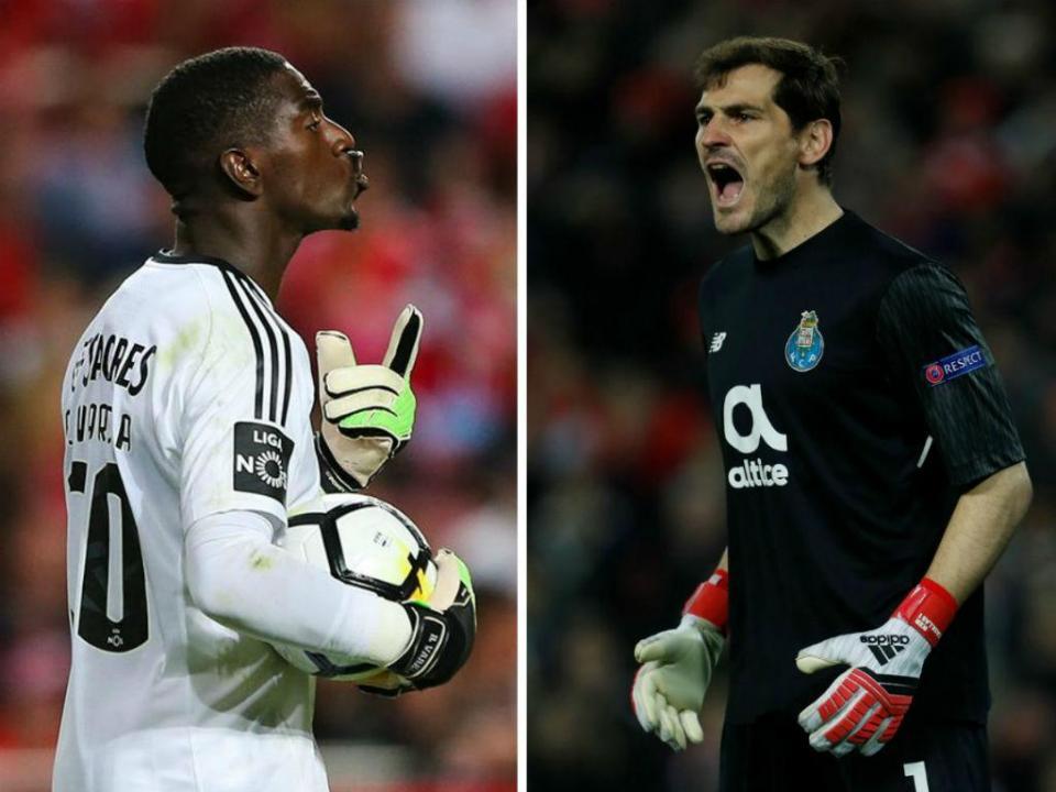 Varela Vs Casillas: duelo de invencibilidade