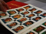 Cromos do Mundial' 66, equipa de Itália (Foto: Ricardo Jorge Castro)