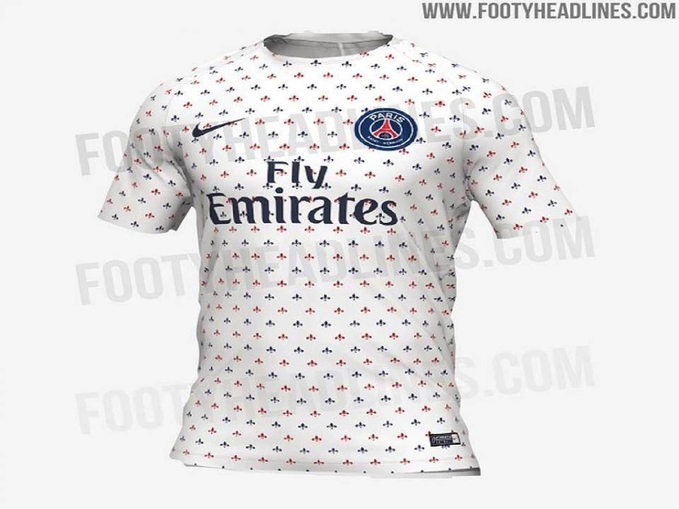 FOTO: será esta uma das camisolas alternativas do PSG?