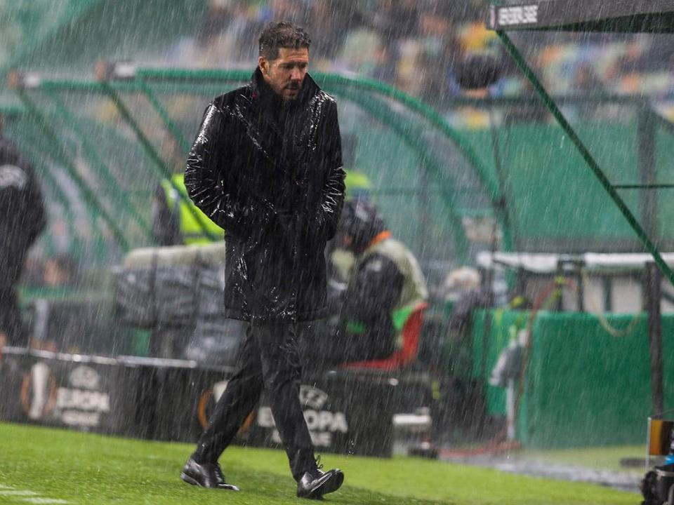Simeone: «Sporting tem grande equipa e um grande treinador»