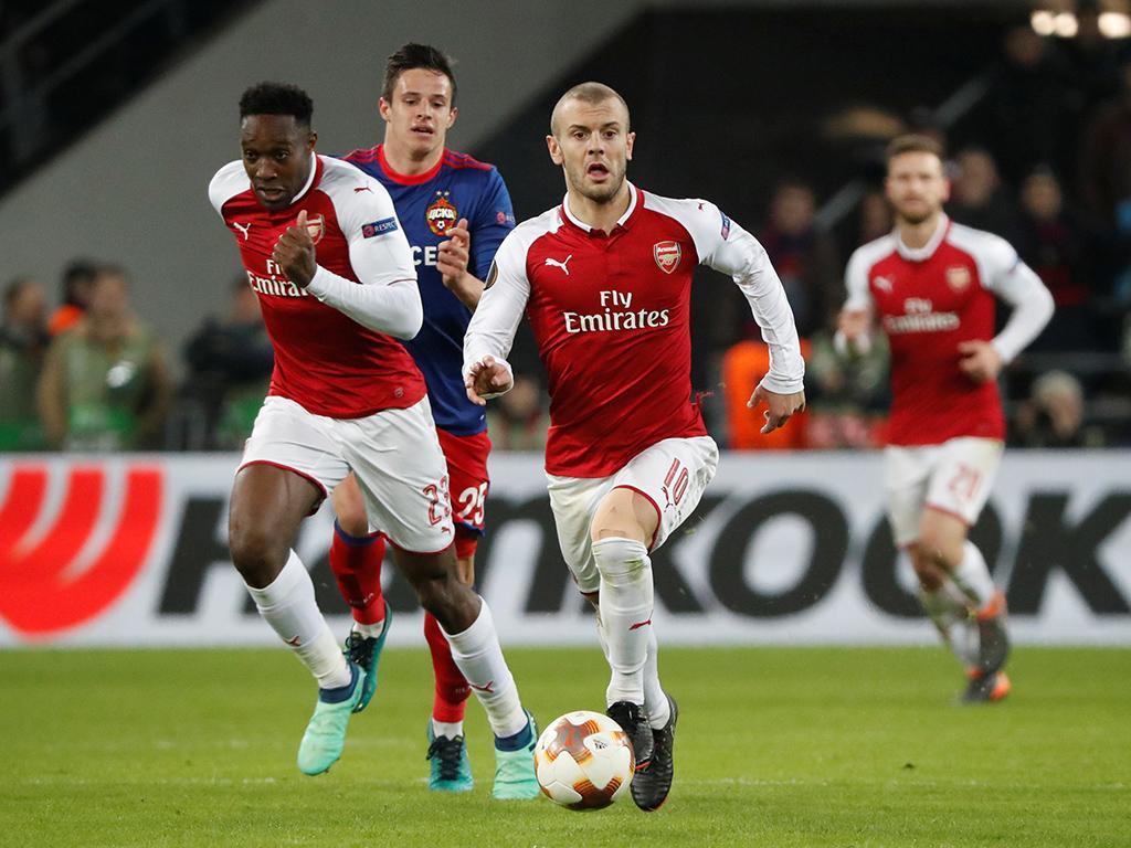 LE: CSKA assusta Arsenal, mas Welbeck e Ramsey carimbam «meias»