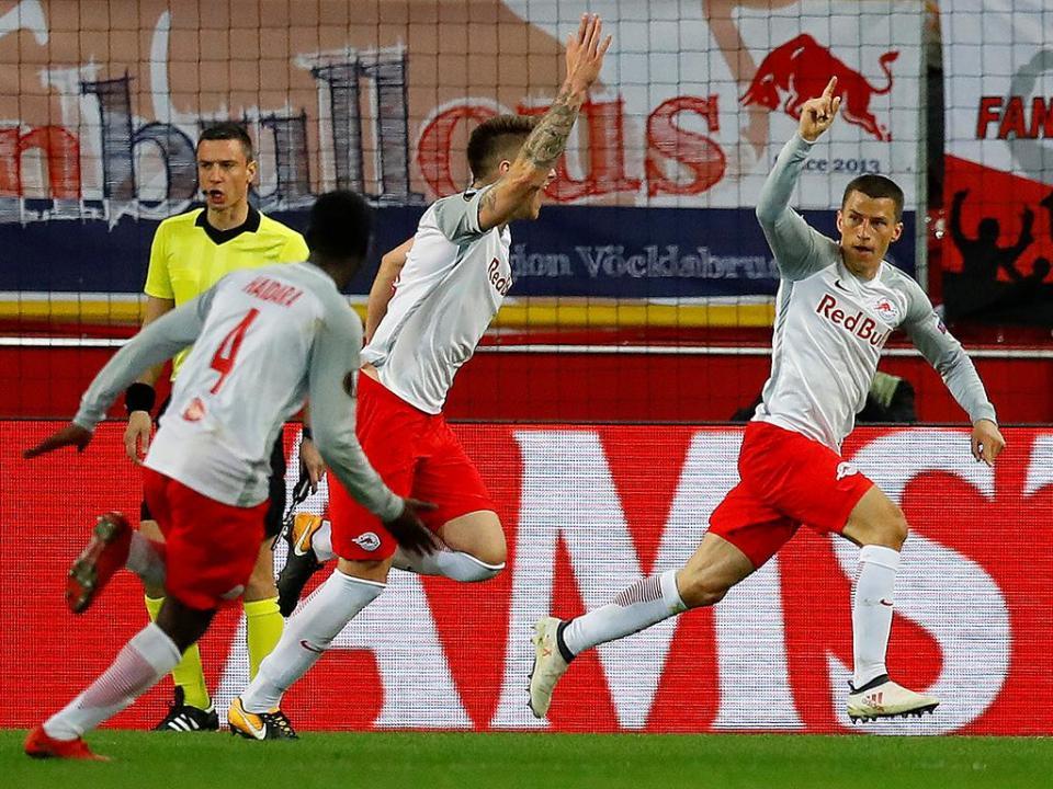 Áustria: Salzburgo chega ao pentacampeonato com goleada