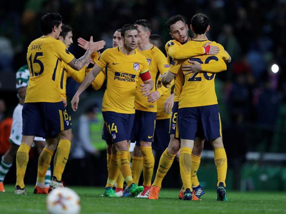 Liga Europa: Atlético de Madrid defronta Arsenal nas meias-finais