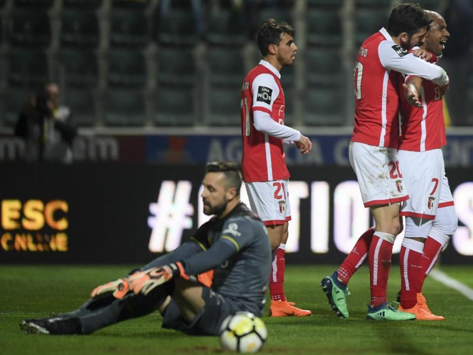 P. Ferreira-Sp. Braga, 1-5 (resultado final)