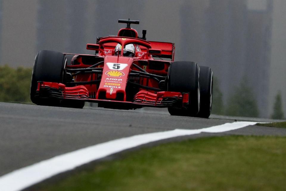 GP da China: Ferrari na frente antes da qualificação, turbo de Ricciardo parte
