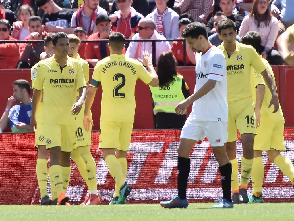 Nolito entra em campo para evitar derrota do Sevilha